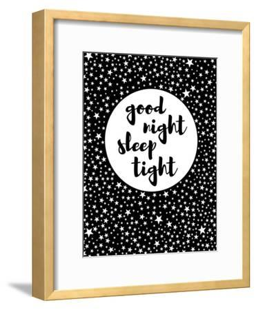 Goodnight-Nanamia Design-Framed Art Print