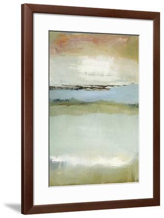 Floating World-Caroline Gold-Framed Giclee Print