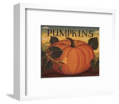 Pumpkins-Diane Ulmer Pedersen-Framed Art Print