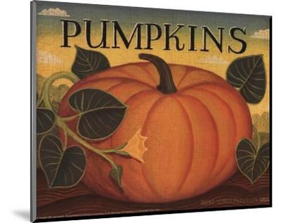 Pumpkins-Diane Ulmer Pedersen-Mounted Art Print