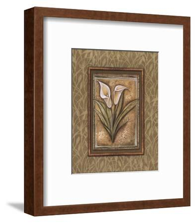 Peaceful Flowers IV - Mini-Charlene Audrey-Framed Art Print