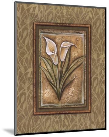 Peaceful Flowers IV - Mini-Charlene Audrey-Mounted Art Print