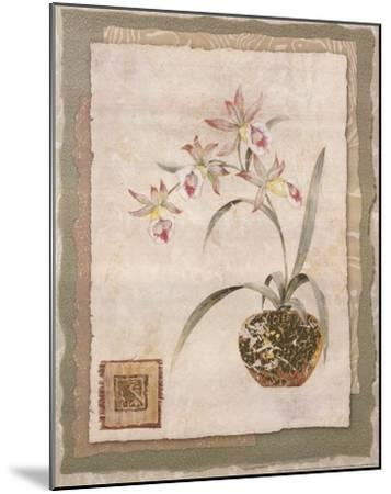 Orchid II-Pamela Gladding-Mounted Art Print