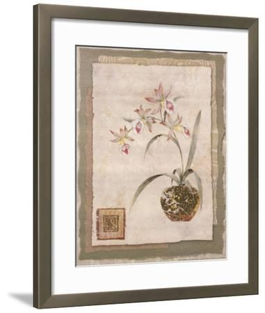 Orchid II-Pamela Gladding-Framed Art Print