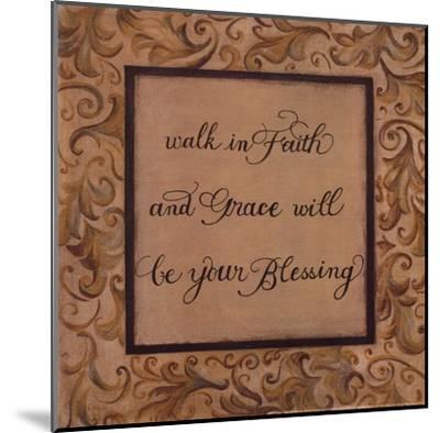 Walk in Faith-Pamela Desgrosellier-Mounted Art Print