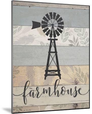 Farmhouse-Jo Moulton-Mounted Art Print