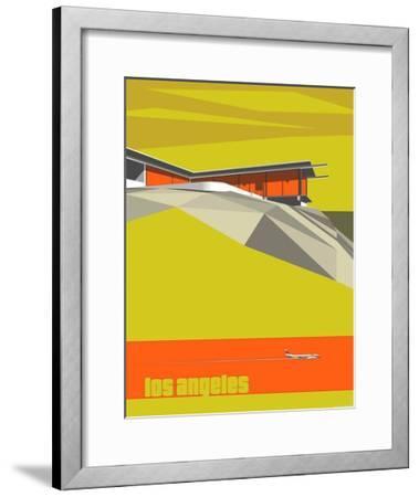 Stahl House-Michael Murphy-Framed Art Print