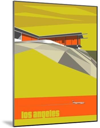Stahl House-Michael Murphy-Mounted Art Print