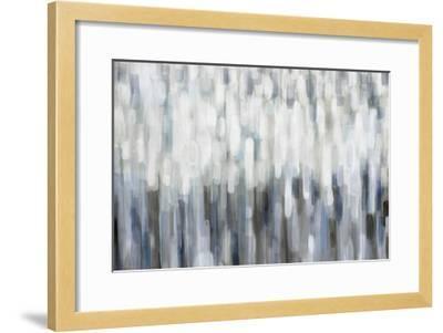 Silver Rain-Karen Lorena Parker-Framed Giclee Print