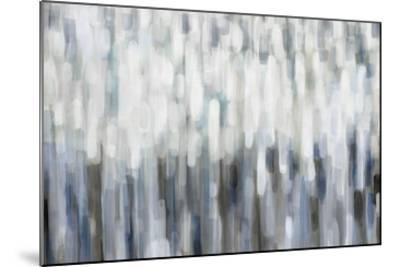 Silver Rain-Karen Lorena Parker-Mounted Giclee Print