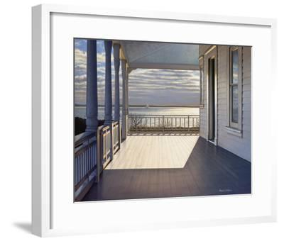 Evening Light-Daniel Pollera-Framed Art Print