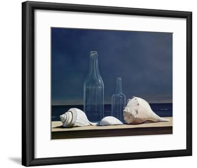 SEASCAPE ART PRINT Seaglass and Shells Daniel Pollera