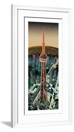 The Tower (night)-HR-FM-Framed Limited Edition