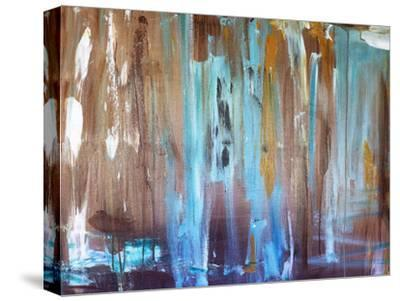 Healing Blue-Laura D Zajac-Stretched Canvas Print