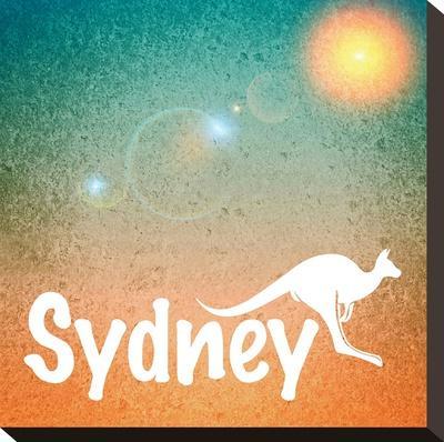 Sydney Australia-Wonderful Dream-Stretched Canvas Print