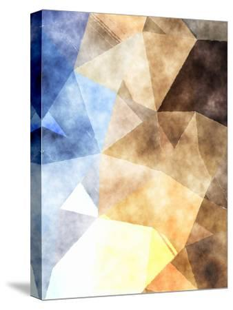Triangles Abstract Pattern 4-Grab My Art-Stretched Canvas Print