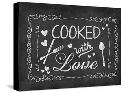 Cooked With Love 2-Lebens Art-Stretched Canvas Print