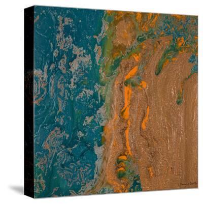 Sea of Gratitude-Lis Dawning Scott-Stretched Canvas Print
