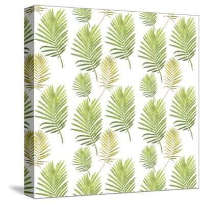 Leafes Plant Illustration-Grab My Art-Stretched Canvas Print