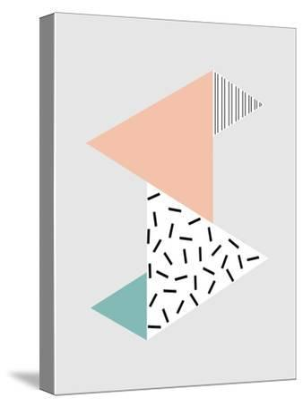Stripes-Nanamia Design-Stretched Canvas Print