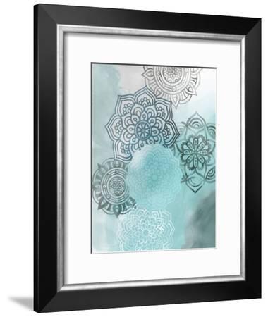 Ink Blot Mandala I-Grace Popp-Framed Art Print