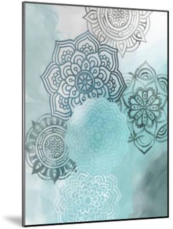 Ink Blot Mandala I-Grace Popp-Mounted Art Print