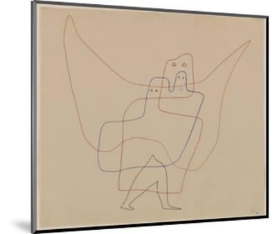 In Angel's Care, 1931-Paul Klee-Mounted Art Print