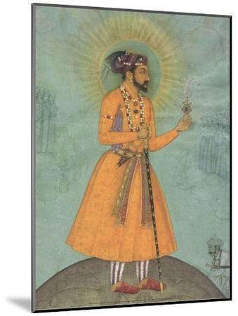 Jujhar Singh Bundela Kneels in Submission to Shah Jahan', 1630-Bichitr Bichitr-Mounted Art Print