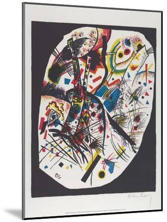 Kleine Welten III (Small Worlds III), 1922-Wassily Kandinsky-Mounted Art Print