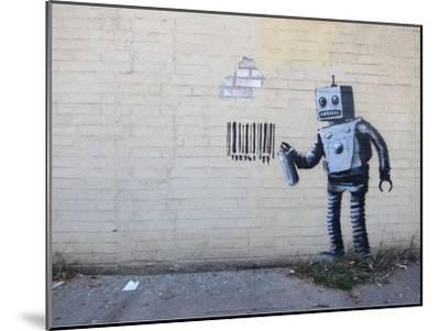 New York City-Banksy-Mounted Art Print