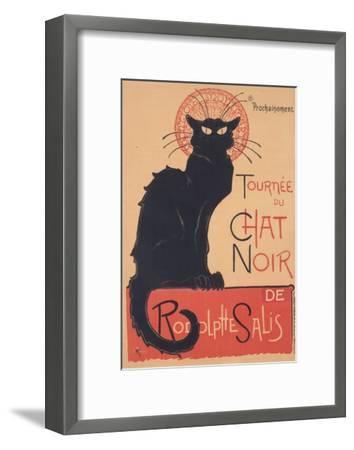 Tourne?e du Chat Noir, 1896 www.lacma.org-The?ophile Steinlen-Framed Art Print
