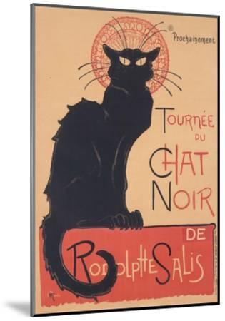Tourne?e du Chat Noir, 1896 www.lacma.org-The?ophile Steinlen-Mounted Art Print