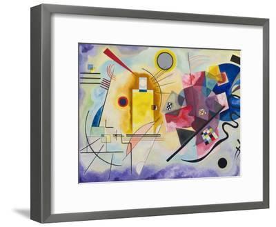 Yellow-Red-Blue, 1925-Wassily Kandinsky-Framed Art Print