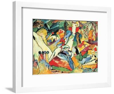 Composition II Sketch, 1910-Wassily Kandinsky-Framed Art Print