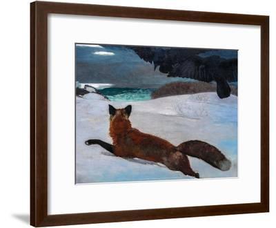 Fox Hunt, 1893-Winslow Homer-Framed Art Print