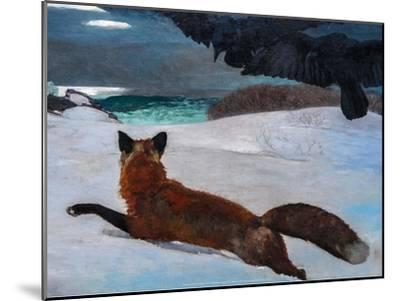 Fox Hunt, 1893-Winslow Homer-Mounted Art Print