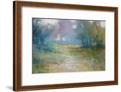 Dappled path-Barbara Newton-Framed Giclee Print