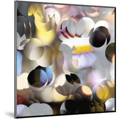 Raindrops 2-Carla West-Mounted Giclee Print