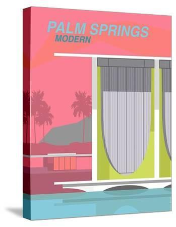 Palm Springs Modern-Michael Murphy-Stretched Canvas Print