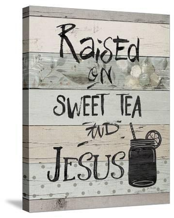Raised On-Jo Moulton-Stretched Canvas Print