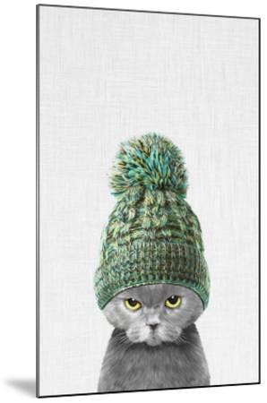 Kitten Wearing a Hat-Tai Prints-Mounted Art Print
