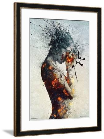 Deliberation-Mario Nevado-Framed Art Print