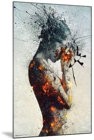 Deliberation-Mario Nevado-Mounted Art Print