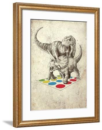 The Ultimate Battle-Michael Buxton-Framed Art Print