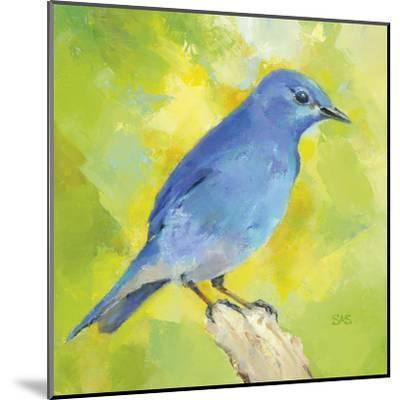 Mountain Bird-Sarah Simpson-Mounted Art Print