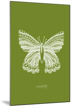 Simple Nature - Butterfly-Clara Wells-Mounted Giclee Print