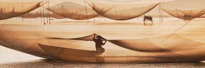 Vietnamese Fishing-Nhiem Hoang The-Framed Giclee Print