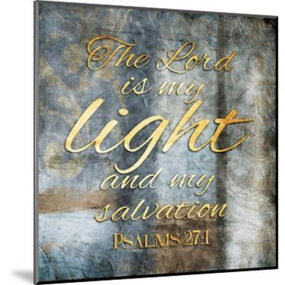 The Lord is My Light-Jace Grey-Mounted Art Print