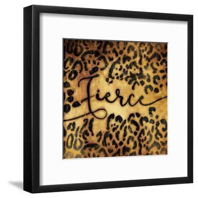 Fierce Animal-Jace Grey-Framed Art Print