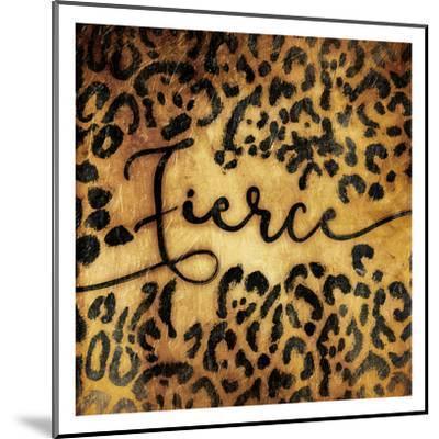Fierce Animal-Jace Grey-Mounted Art Print